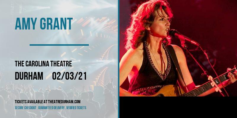 Amy Grant at The Carolina Theatre