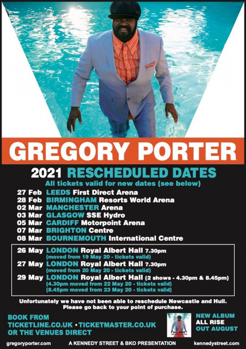 Gregory Porter at Schermerhorn Symphony Center