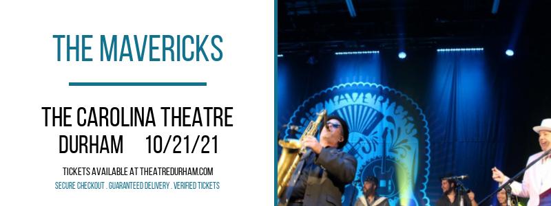 The Mavericks at The Carolina Theatre