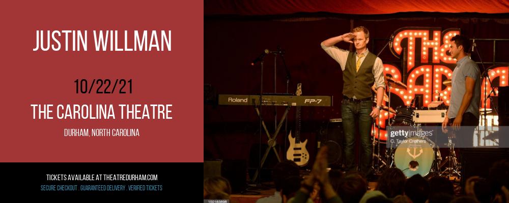 Justin Willman at The Carolina Theatre