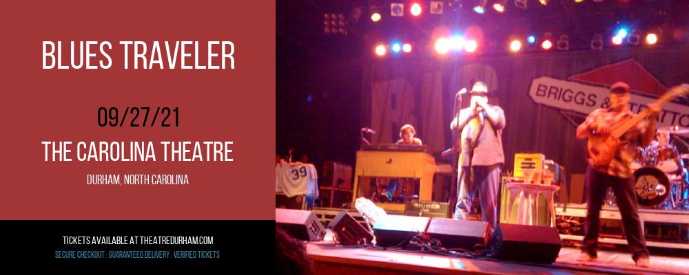 Blues Traveler [CANCELLED] at The Carolina Theatre